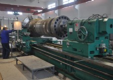 heavy horizontal lathe (for workpiece of ¢1600×6000 and 18 tons)