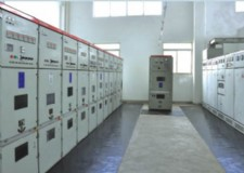 power distribution room for testing